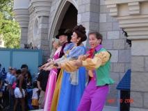 With Prince Philip & Princess Aurora