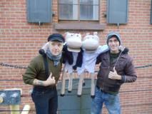 Puppeteers Daniel Fay & Kane Prestenback
